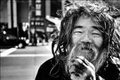 This content soul maybe homeless.. but no less at home. He retains dignity.: by dalexander, Views[197]