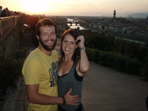 Us in Florence
