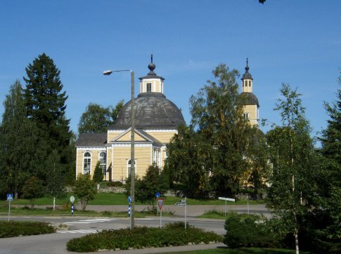 The church in Lappeenranta