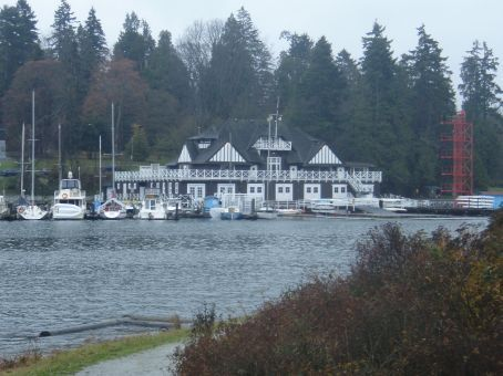 Boat club at Stanley Park