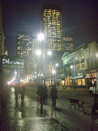 Another view of Stephen Ave
