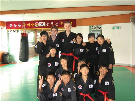 The day of the Black belt test, 9th October.