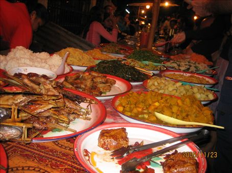 Dinner line