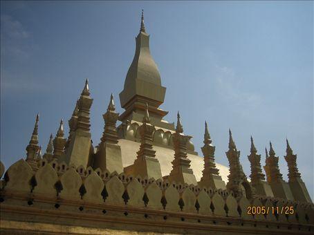 Main temple, Vientiane