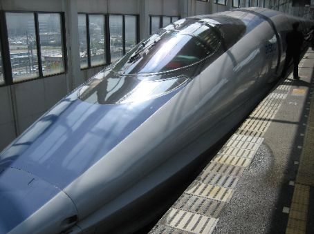 Going home in Style - Nozomi super express bullet train. 85 pounds and 4 hours later we are back in Tokyo