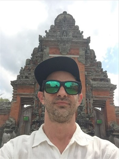 Me and a temple