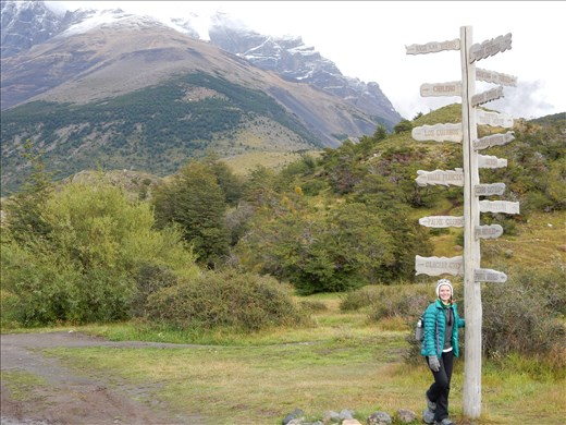 Day 1 of the W Trek. Off to Torres del Paine!