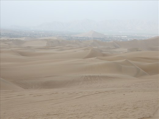 We arrived in a little town called Huacachina to dune buggy and sandboard.