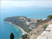 View of Bourtzi Castle from Palamidi fortress. : by danidawnandstevo, Views[188]
