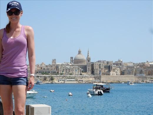 Malta and the city of Valletta.