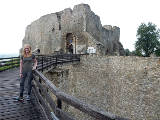 The Neamt Fortress build in the 14th century. The citadel played a key role in Stephen III of Moldavia defense system. Legend has it 19 guards defended the fortress against the Polish army for eight days.