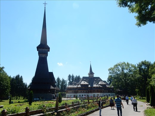 Monastery Sapanta-Peri. Arguably the tallest wooden structure in the world.