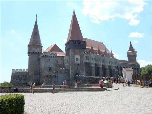 Corvins Castle in Hunedoara.