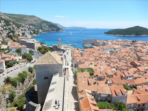 A beautiful view of Old Town from Minceta Tower.