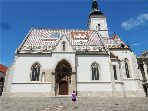 St. Mark's Church, Zagreb.
