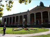 Self guided 90 minute walking tour took you along the Oos River in Baden-Baden past the Kurhaus Spa Complex and Trinkhalle (pumphouse).  : by danidawnandstevo, Views[140]