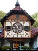 The worlds largest Cuckoo Clock.in Triberg-Schonoch. It's 15 feet tall and weighs 6 tons.  : by danidawnandstevo, Views[290]