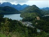 View of Hohenschwangau Castle from Neuschwanstein Castle. : by danidawnandstevo, Views[118]