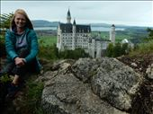 Neuschwanstein Castle was the inspiration for Disneyland's Sleeping Beauty Castle. : by danidawnandstevo, Views[143]
