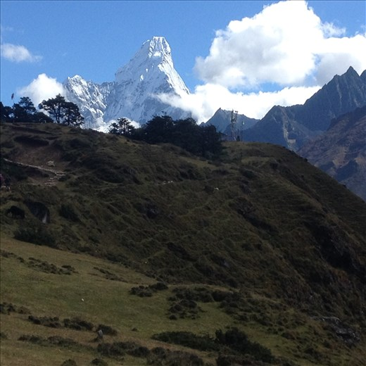 Even though Everest is the most popular there are many other spectacular mountains around her.