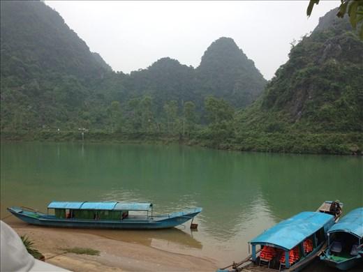 Arrived in Phong Nha-Ke Bang National Park for a 40 minute boat ride to visit Phong Nha Cave.