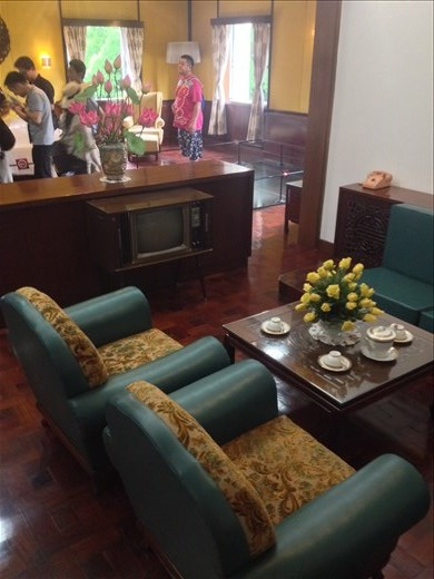 Independent Palace is preserved with all of its 1960 furnishings.