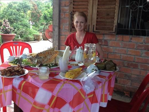 So much good food in Vietnam.