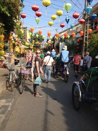 Hoi An was a beautiful walking town.