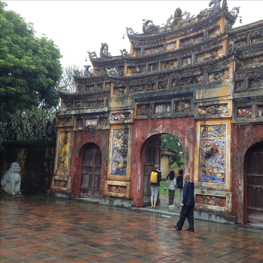 Entrance to the Kings Temple in the Imperial City.