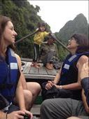 Took a row boat around Ha Long Bay. Rowed through some caves and kayaked. : by danidawnandstevo, Views[202]