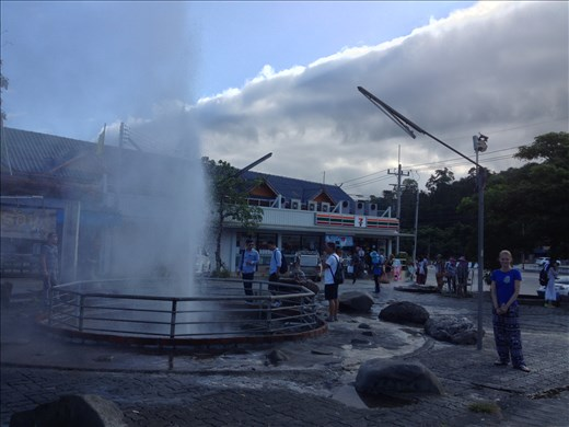 Cheesiest tourist attraction ever was advertised as a geyser and market square. Turned out to be water shooting out of a hose near a 7-11.