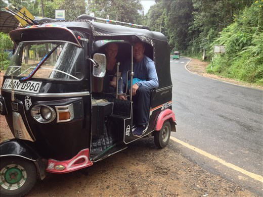 First spin in a tuk tuk.