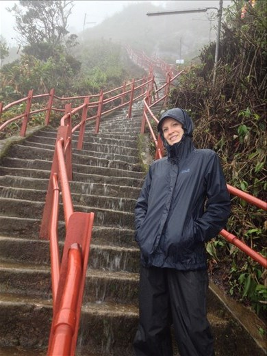 A pilgrimage to the top of Adam's Peak to get a look at Buddha's footprint.