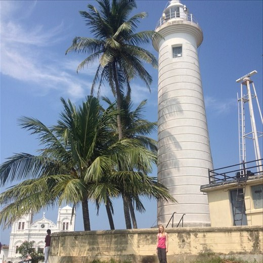 A visit to Galle Fort World Heritage site.