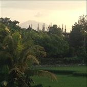 Mt. Agung coughing up some smoke: by danidawnandstevo, Views[195]