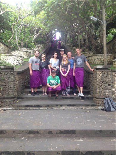 Visit to Uluwatu Sea Temple