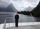 The iconic photo of Mitre Peak on the shore of Milford Sound. : by danidawnandstevo, Views[161]