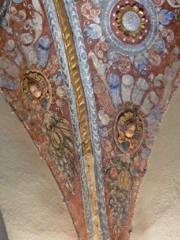 Ceiling in Qorikancha