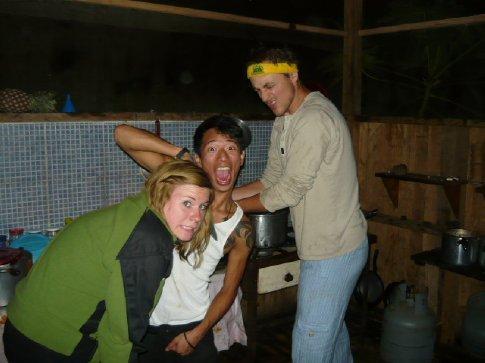 Drunks taking over Gloria's kitchen