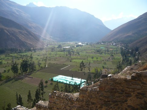 Ollaytantambo (in the Sacred Valley)