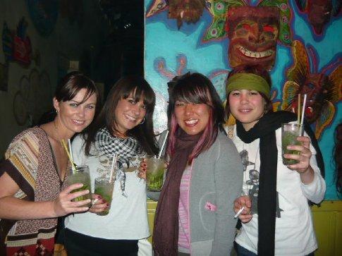 Girls' night out...Stacy, Kini, Benita & I