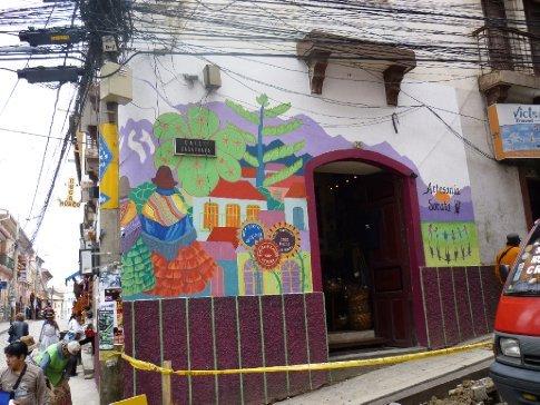 Fair Trade Artesania store run by the volunteer association