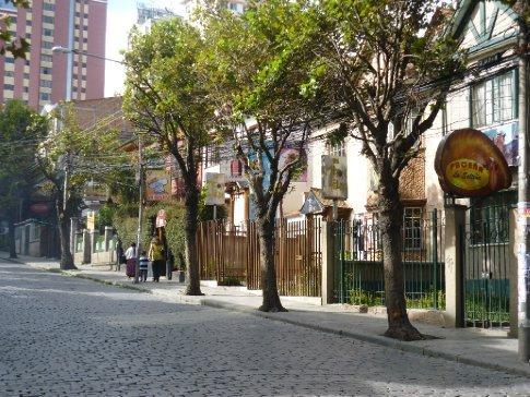 Sopocachi - the nice area
