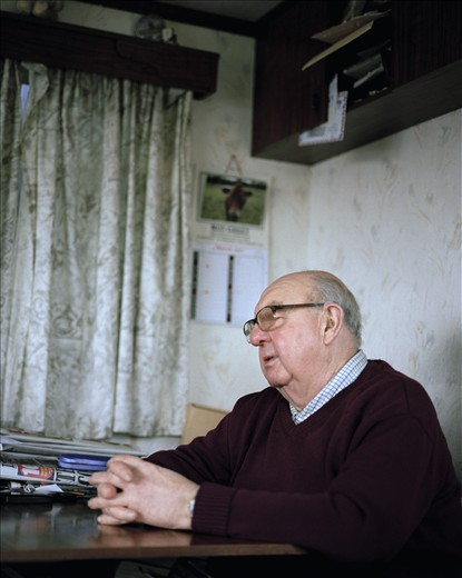 When I first met 72-year-old Leonard he was dealing with  the loss of his mother, whom he had lived with all his life. Finding himself thrown into an unfamiliar situation, he was learning to live on his own while dealing with the ins and outs of domesticity for the first time in his life.    Since his mothers passing Leonard has moved back to the farm where he was born, now owned by horticultural machinery specialist Ron Greed, whom Leonard has worked for all his life. Although he is well into his retirement years Leonard still enjoys performing odd jobs around the farm while enjoying his own company and reminiscing of times gone by.  Leonard is a fascinating individual, full of stories and knowledge, his home represents a landscape of his memories and past life. I would often find myself listening intently as he recalled his life stories, making the occasional frame when I felt necessary.