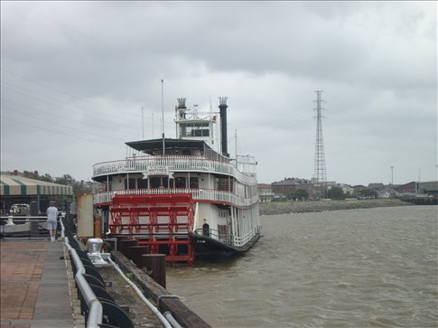 New Orleans - Steamboat Natchez on the Mississippi River