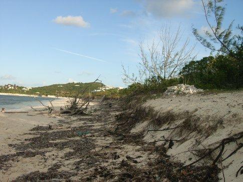 Beach facing left - after Ike