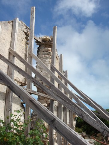 Yankeetown ruins