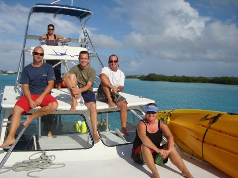 Heading to West Caicos on Live & Direct