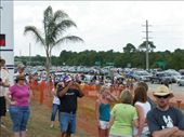 Shuttle Launch - crowds gather and roads come to a halt: by dannygoesdiving, Views[648]