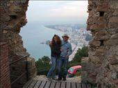 Jo & me overlooking Blanes: by dannygoesdiving, Views[379]